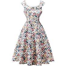 Vestidos vintage 1950s retro rockabilly cóctel fiesta pin-up vestido