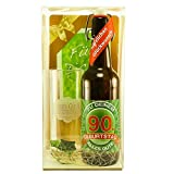 Bier Geschenk zum 90.Geburtstag Geburtstagsgeschenk neunzigster Geburtstag Bier Geschenkset zum 90. Geburtstag