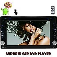 Eincar doppio 2 DIN precipitare Android autoradio quad-core Android supporto stereo 5.1 Multi-Touch Tablet Multimedia sistema AM / FM radio ricevitore universale capo unit¨¤ GPS Sat Nav di navigazione 6.2 pollici controllo del volante / / SD / USB / Bluetooth Remote Control