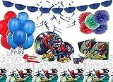 Irpot Kit n 68 Addobbi Festa Compleanno Personaggio a Scelta (Spiderman)