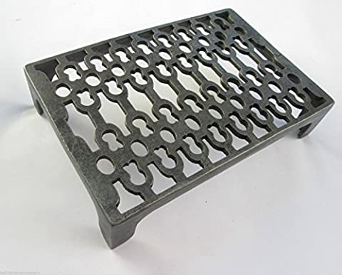 IRONMONGERY WORLD® VICTORIAN VINTAGE STYLE CAST IRON AIR VENT BRICK AIR GRATE GRILLE AIRER (Ghisa Aria Del Registro)