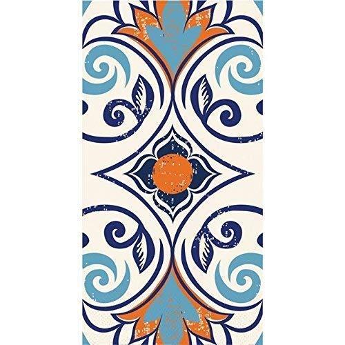 Elise pc332664 marokkanische Kachel Papier Gast Handtuch / groß Servietten Vintage (16er Pack, mehrfarbig) (Gast Handtücher Papier)