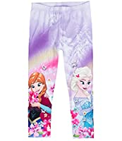 Disney Frozen Elsa & Anna Girls Capri pants - purple - 8 yrs