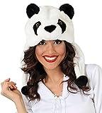 Guirca- Gorro oso panda, Talla única (41183.0)
