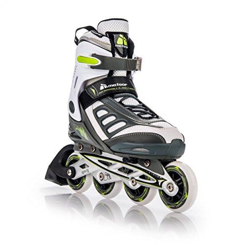 METEOR® SPRING Inline Skates | Kinder | Damen | Herren | Größenverstellbar: 32-35 / 36-39 / 40-43 | ABEC 7