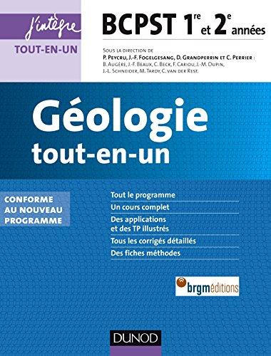 Géologie tout-en-un BCPST 1re et 2e années - 2e éd.