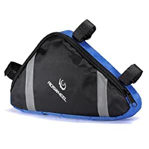 Outdoor Cycling Bicycle Bike Triangle Bag Front Saddle Bag Top Tube Frame Pouch by Elegiant