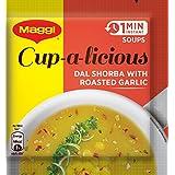 Maggi Soup Dal Shorba and Garlic, 15g (Pack of 10)