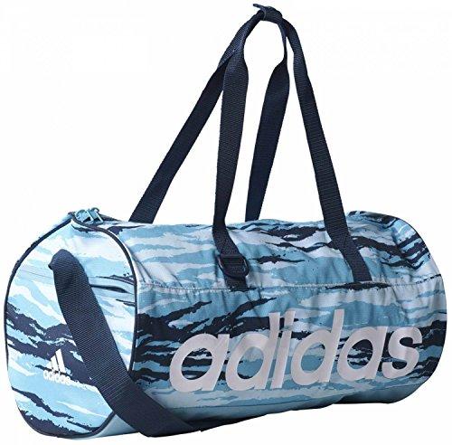 adidas Damen Linear Performance Team Sporttasche, Iceblu/Conavy/White, 50 x 25 x 25 cm, 31 Liter