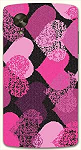 Attractive multicolor printed protective REBEL mobile back cover for LG Nexus 5 / Google Nexus 5 D.No.N-L-14475-NX5