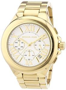 Reloj Michael Kors MK5635 de cuarzo para mujer con correa de acero inoxidable bañado, color dorado de Michael Kors