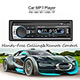 ATian-- CAR MP3 / WMA Player Schermo TFT Radio FM AM Coche 4 Altoparlante Supporto video SD / USB / MMC Uscita ID3 Display con Bluetooth Chiamata a mani libere e EQ integrato + Telecomando + Controllo tasto volante
