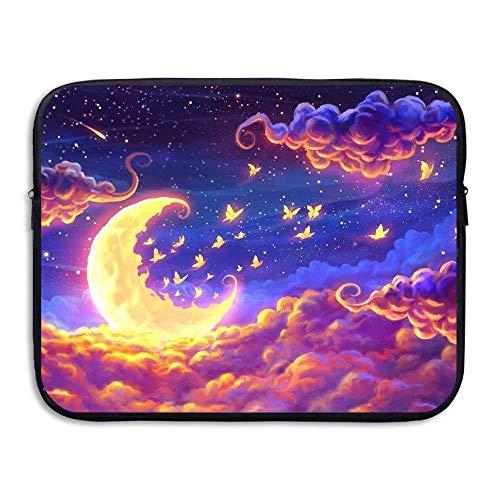 Preisvergleich Produktbild Laptop Sleeve Bag Moon Fairy Clouds Cover Computer Liner Package Protective Case Waterproof Computer Portable Bags