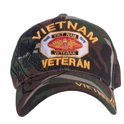 bestickt ACU Digital Camo US Style Vietnam Veteran Baseball Cap - Cap Camo Gi
