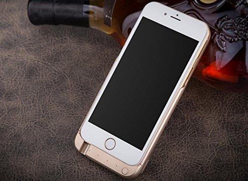 GDS Apple iPhone 6/6S. treasure. de charge intégré power. Mobile Téléphone portable boîtier noir