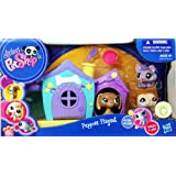 Littlest Pet Shop - Puppies Playset - 3 Pack - #1751 Dachshund, #1752 Husky & #1753 Boxer with Dog House and Accessories! - 24981