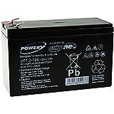 Powery Batería de GEL 12V 7,2Ah