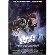 Star Wars Poster Empire Strikes Back Style a