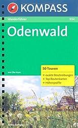 Odenwald: Wanderführer mit 50 Touren mit Höhenprofilen, Tourenkarten und Wandertipps.