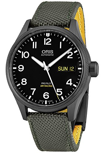 Oris Big Crown automatique Jour Date Air Racing Edition VI montre homme 01 752 7698 4284-set