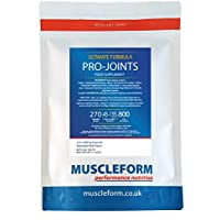 Muscleform 800 mg PRO-JOINTS Glucosamine HCL Premium Joint Care Capsules - Pack of 270