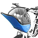 BV Isolierte Lenker Tasche für Warm oder Kalt, Schultergurt & schnellverschlussbetätigung Lenkerhalterung, erhältlich in 2Farben hb3(blau)