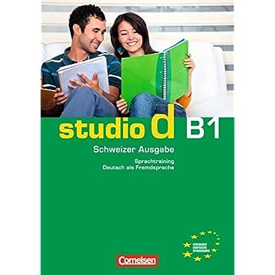 studio d schweiz b1 gesamtband sprachtraining mit eingelegten
