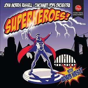 Superheroes | Hollywood Musical Scores [John Morris Russell, Cincinnati Pops Orchestra ] [Fanfare Cincinnati: FC-002]