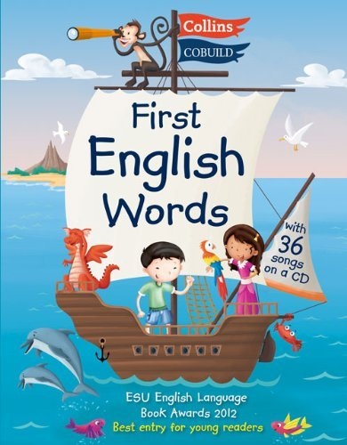 First English Words (Incl. audio CD): Age 3-7 (Collins First English Words) by Karen Jamieson (3-May-2012) Paperback