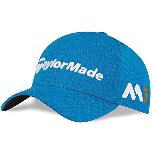 new-2016-taylormade-m1-psi-logo-tour-radar-golf-cap-hat-as-worn-on-tour-shock-blue