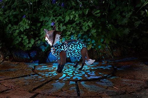 Wunderschöne Metall Garten Deko Figuren Solar Tiere mit LED Beleuchtung und Lichtsensor   wunderschöne Garten Dekoration mit Solar LED Leuchten (Fuchs) - Solar Tier