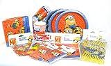 Minions Mega Party Set mit 152 Teilen, Mottoparty, Fan Party