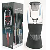 Packnbuy Wine Aerator Breather Magic Decanter Essential with Filter, Bag and Cup