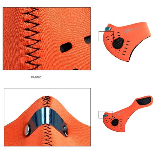 Generic yanhonguk150730–12621yh3174yh Maske Cover L Motorrad Racing Anti T Filter HA ROCKBROS ROCKBROS Staub Filter Hälfte rcycle RA Bike Fahrrad E Fahrrad Gesichtsmaske, (Ra Maske)