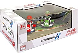Mariokart Pull & Speed Twin Pack Mario & Luigi 1:43 Cars Set 15813011