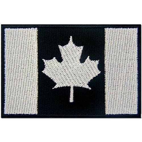 Kanada Flagge bestickt Patch Canadian Maple Leaf Eisen auf Sew auf National Emblem Heat Seal Backing -