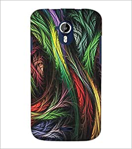 PRINTSWAG COLORFUL LEAFES Designer Back Cover Case for MICROMAX A117 CANVAS MAGNUS