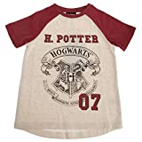 HARRY POTTER - Camiseta Modelo Hogwarts para niños y niñas (5-6...
