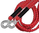 Goodyear Abschleppseil 2800kg Ultra Strong Polypropylen Seil Geschmiedete Stahlhaken