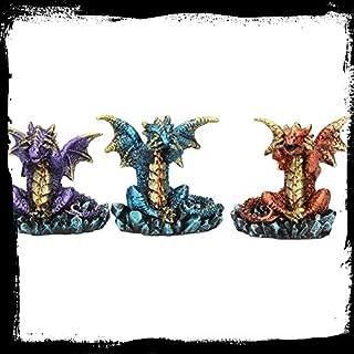 Alator DREI Weisen Drachen Set von 3aus Nemesis Now