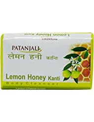 Patanjali Lemon Honey Kanti Body Cleanser, 75g