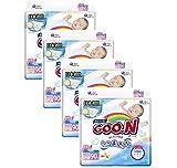 GOO.N Premium Qualität japanische Windeln NewBorn Gr. XS (~ bis 5 kg) SPARPACK 360 Stück (4 x 90 Stück) Monatsbox 4er Pack