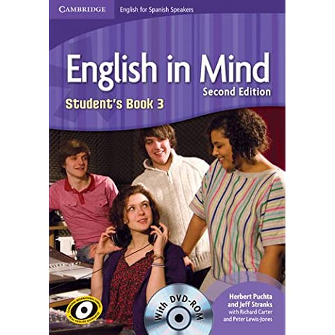 English in Mind for Spanish Speakers  3 Student's Book with DVD-ROM