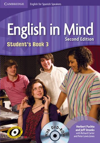 English in Mind for Spanish Speakers 3 Student's Book with DVD-ROM - 9788483236420 por Herbert Puchta