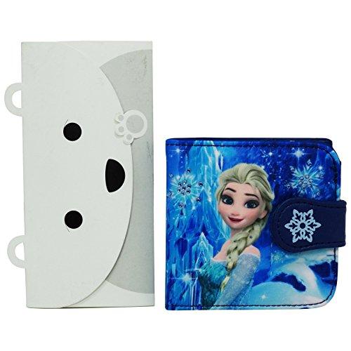 Disney La Reine des Neiges Portefeuille Porte-Monnaie Cartes Pochette