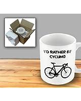 Humorous Mug - I'd Rather be Cycling