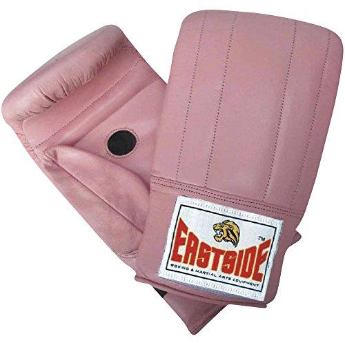 Eastside-Set da allenamento boxe in pelle guanto guanto in stile tradizionale - Batting Guanto Set