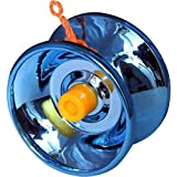 Storio Fine Quality High Gloss High Speed Metal YoYo Toy Spinner Toy (1 Pcs) (Color May Vary) (Glossy Metal)
