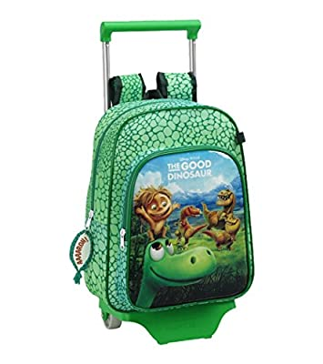 Safta Mochila Infantil con Ruedas, Color Verde por Safta