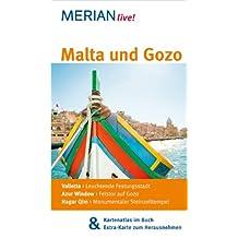 Malta und Gozo: Mit Kartenatlas im Buch und Extra-Karte zum Herausnehmen (MERIAN live)